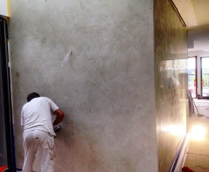 Caulfield polished plaster