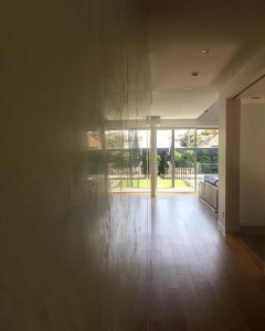 Polished plaster Melbourne CBD